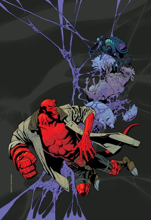 Hellboy: Buster Oakley Gets His Wish Art by Kevin Nowlan