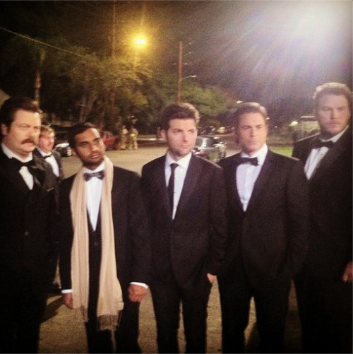 unforettable: The Gentlemen of Parks and Recreation #YouSexyMuhthuhfukhus