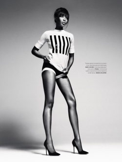 suicideblonde:  Naomi Campbell photographed by Sebastian Kim for Numero Russia, March 2013