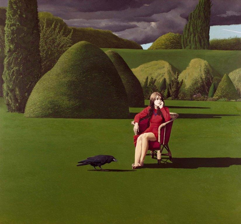 David Inshaw (British b 1943)