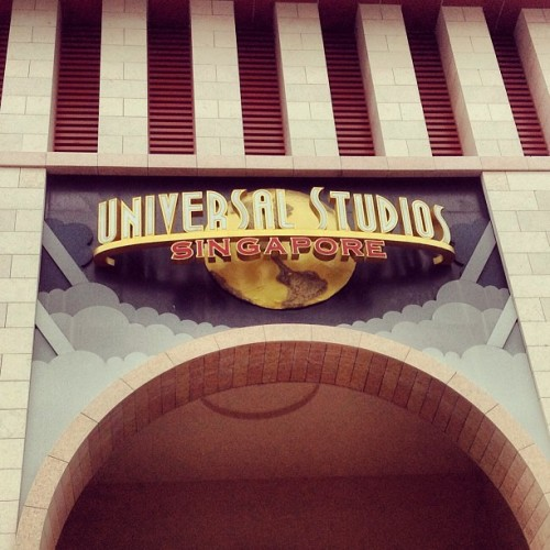 Ride The Movies. 👍😍❤ (at Universal Studios Singapore)