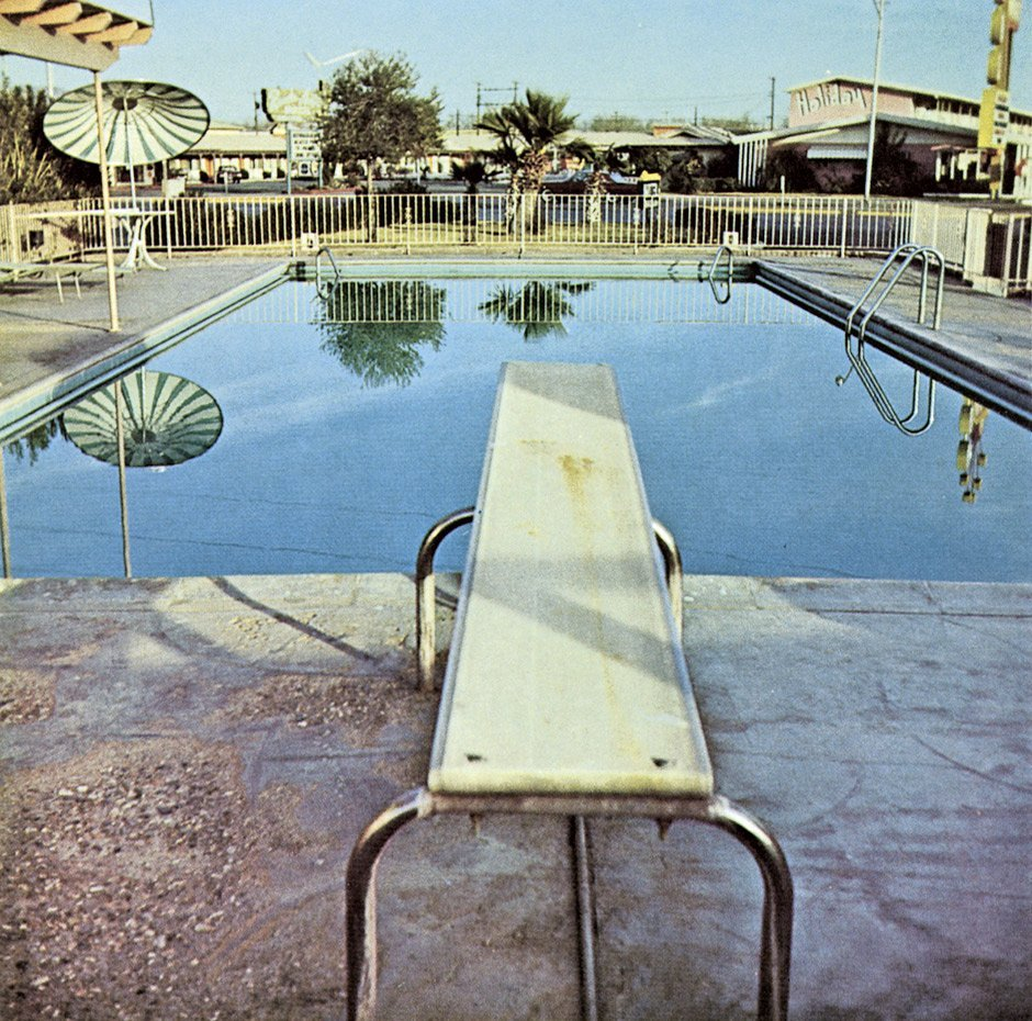 wandrlust:  From Nine Swimming Pools and a Broken Glass, 1971 — Ed Ruscha
