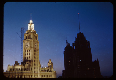 Light and Dark (Wrigley and Tribune), 1948, Chicago