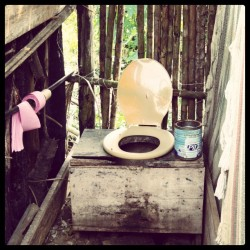 Toilet in the jungle #jacjcuisi #bolivia #warayassi #southamerica #travel #wildlife