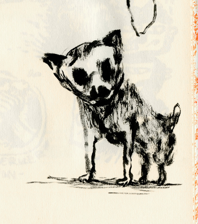 ghosttthead:  mini dog/sketch…