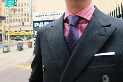 Custom Epaulet Southwick Flannel DB Suit Thanks to StanleyVanBuren for the pic!