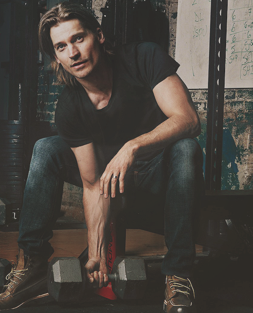 Nikolaj Coster-Waldau for 'Men's Health' May 2013