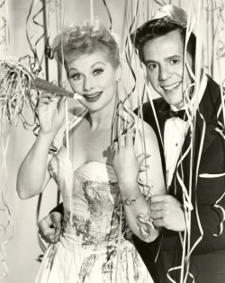 I Love Lucy - Lucy and Desi Happy New Year!