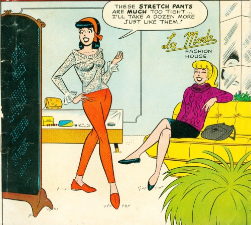 comicallyvintage:  Oh, Veronica…