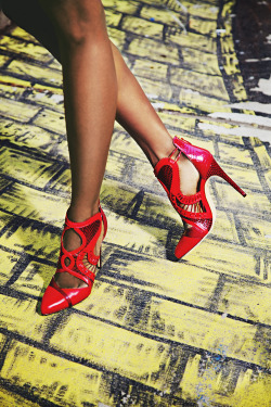 Follow the yellow brick road to Alexandre Birman's sexy 'Ibby' Heel. For more details, please email service@s5a.com.Photo: Romer Pedron