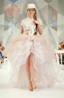 susannasia:  The tutu wedding gown by Zayan The Label at the Fashion Forward, Dubai! @ffwddxb