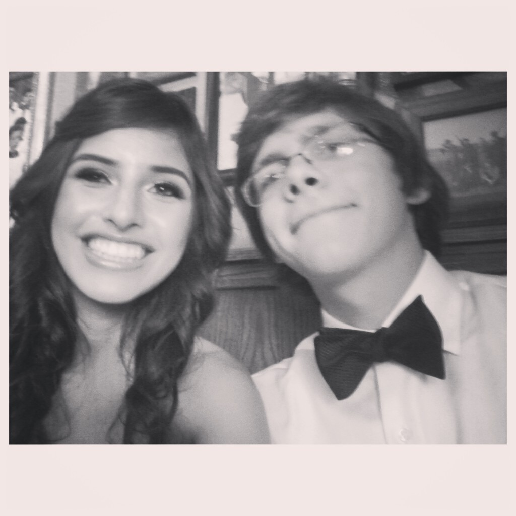 Prom with my love c: