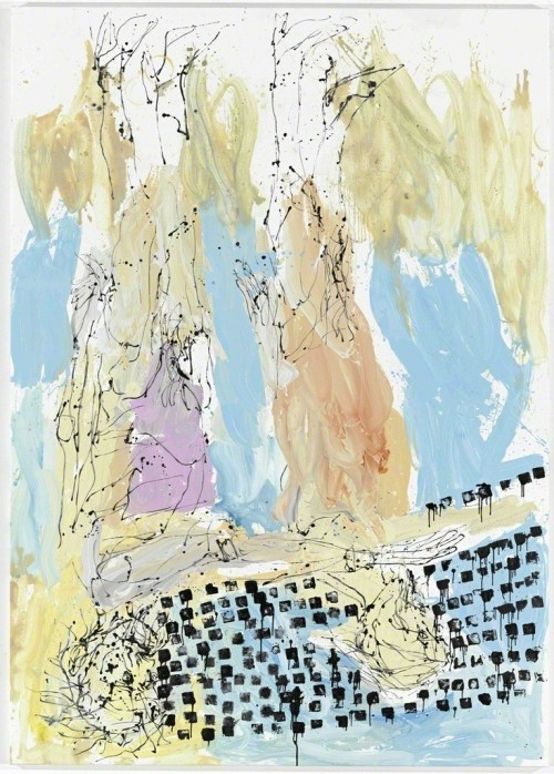 andrewharlow:  Georg Baselitz (previously)Ostsee, 2012Oil on canvas