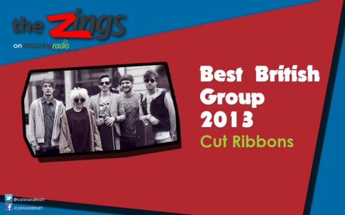 We won Best British Group at The Zings. Thanks so much to everyone who voted and the guys at Amazing Radio for their support!