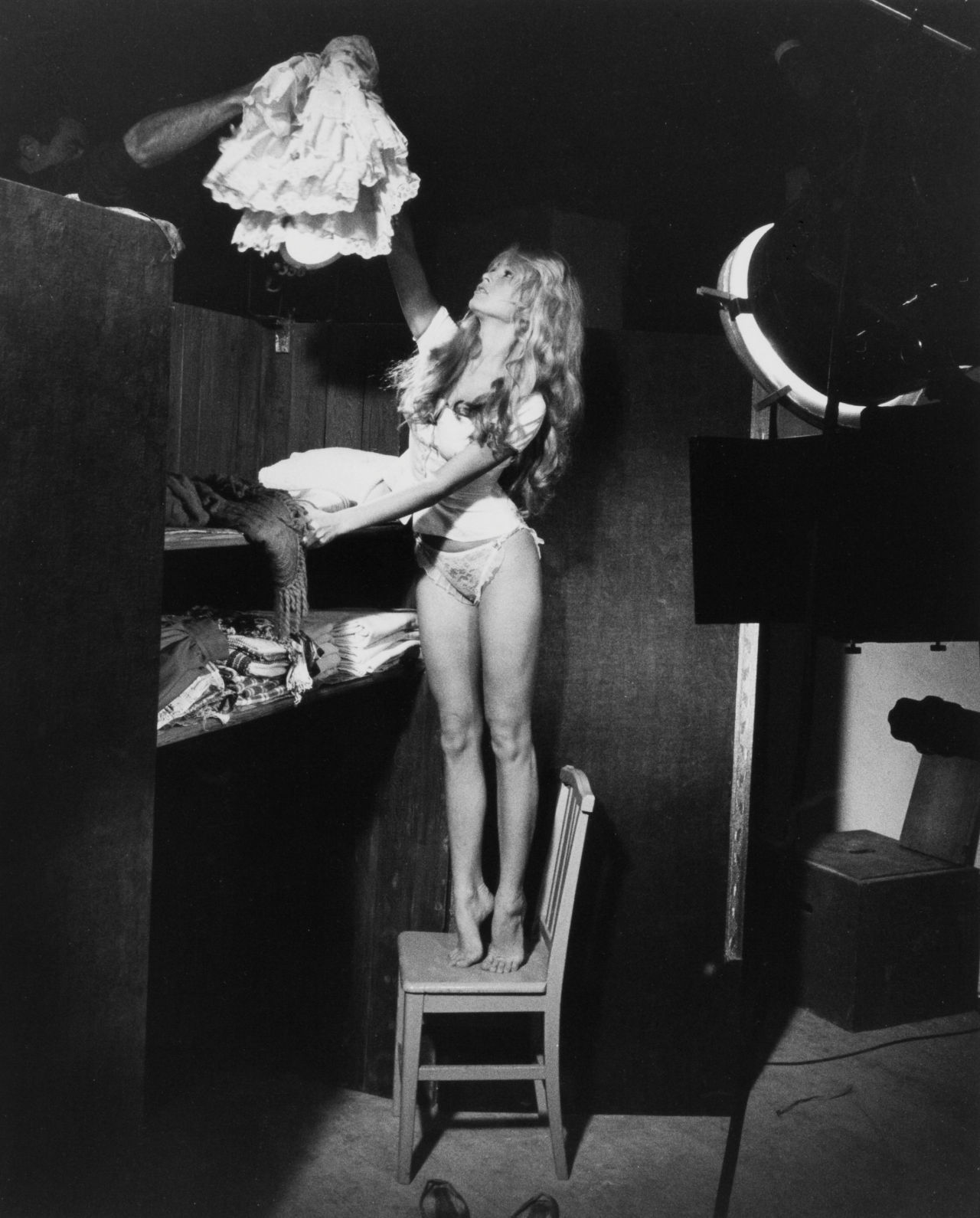 wandrlust:  Untitled (Brigitte Bardot in Her Dressing Room), 1956 — Edward Quinn
