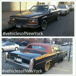 #Vehiclesofnewyork #Cadillac #coupe #80s #Brooklyn #old-school #swag #luxury #muscle #cars