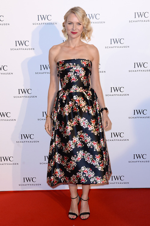 Naomi Watts at the IWC FilmMakers dinner during the 2013 Cannes FF, May 19th