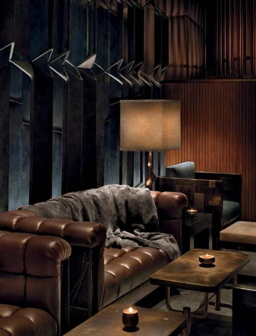 justthedesign:   Lounge Area At The Royalton Hotel In New York City