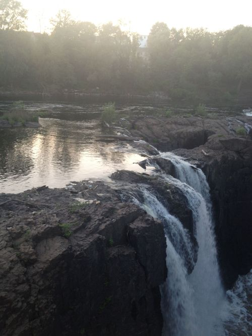 l-qhts:  Paterson Falls today
