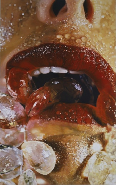 Marilyn Minter, Crystal Swallow, 2006