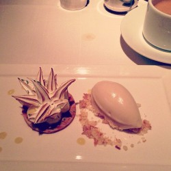 Lime meringue tart at Gramercy <3