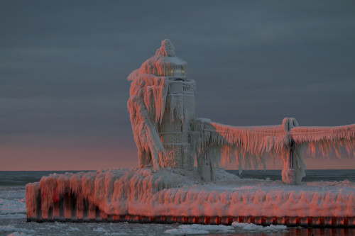 Frozen Lighthouse!