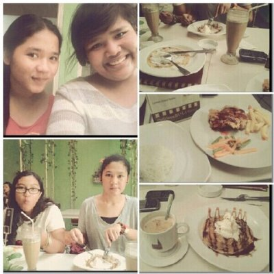 Happy Eating. At Huk! with @dinjoo @lissasabrina @civyyyy