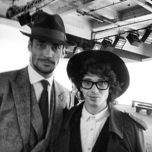 David Gandy & Harry J Bartlett I met David at the Topman Design AW13 show as part of the London Collections: Men.As i've met David previously, he saw me and managed to get me into the show, was a pleasure seeing him again and we had a great chat and a catch up.(Even greater things happened the day after but all will be explained in due course).
