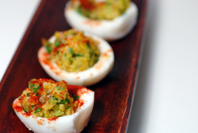 Deviled Eggs by elana's pantry on Flickr.