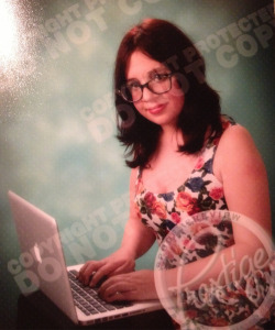 matthitarchive:  senior pictures w my laptop ride or die motherfucker