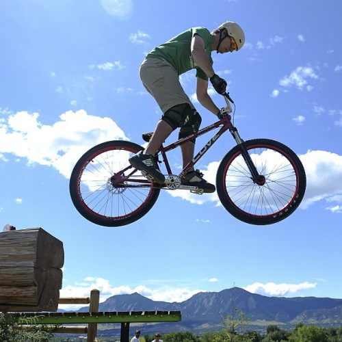 In the heart of Boulder, Colorado lies Valmont Bike Park, the world's largest urban bike park. And the best part? It's free.