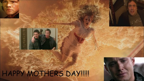 lilyliqueur:  ameliaozwald:   happy mothers day from the winchesters!  Well then…  You lil' shits.  WHY WOULD YOU DO THIS TO ME?!?