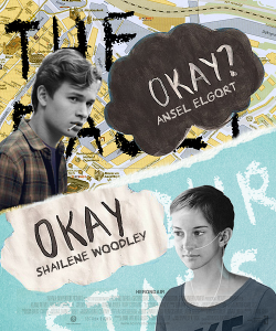 maddasahatterr:   The Fault In Our Stars Fanmade Poster  I'm a little bit more okay with this. Starting the visualize it better