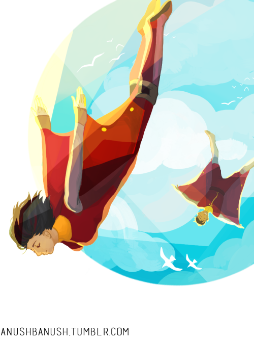 korranation:  anushbanush:  Opal got a lot better at airbending.  This is beautiful