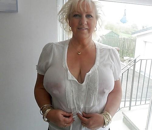 White see through nipples