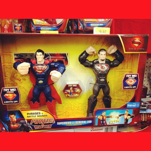 #ManOfSteel #toys- #actionfigures are here. #Superman #GeneralZod #DC #Comics #comicbooks #comicbooklegion