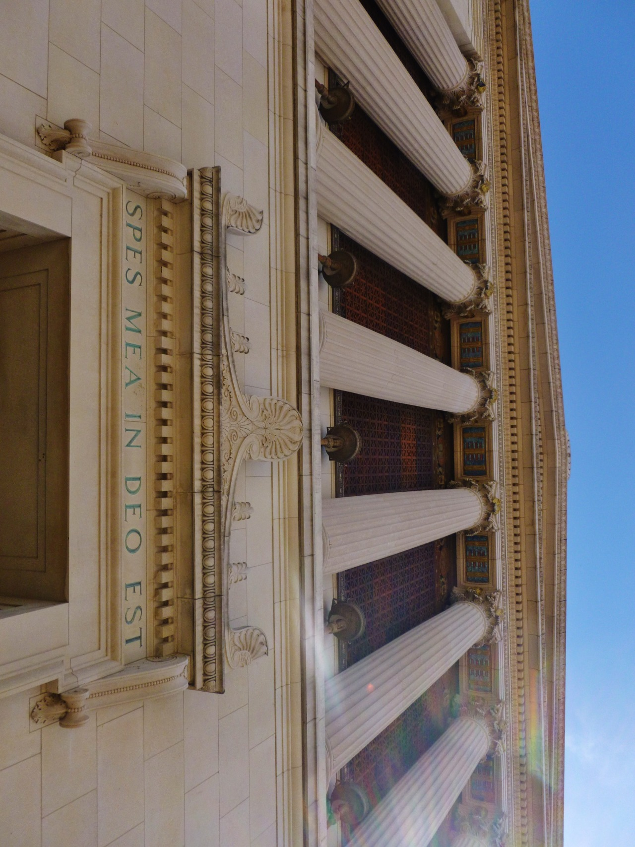 timothymcvainlives:  The Scottish Rite Auditorium. San Antonio, Texas.