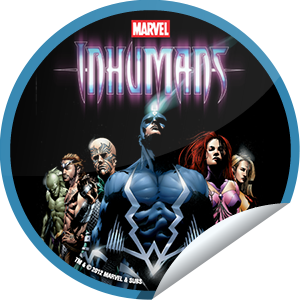 I just unlocked the Inhumans on DVD sticker on GetGlue                      3320 others have also unlocked the Inhumans on DVD sticker on GetGlue.com                  The kingdom of Attilan is under attack from without and within. Can the Royal Family repel the foreign invaders who blast at their outer defenses, as well as the internal threat of Black Bolt's insane brother, Maximus the Mad? To find out what happens, get your copy of the DVD today.  Share this one proudly. It's from our friends at Marvel.