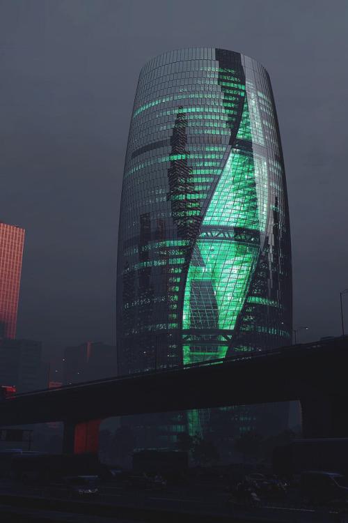 design building tower architects magazine atrium features starry universe living space amazing reblog follow beijing luxurylife