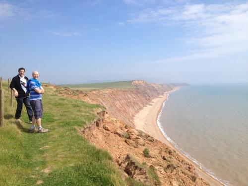 Gorgeous sunny walk with friends. Brighstone to Yafford, Isle of Wight  www.the-caledon.co.uk