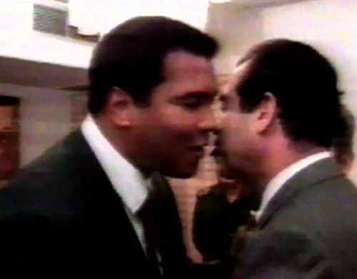 Muhammad Ali and Saddam Hussein The Day Muhammad Ali Freed 15 American Hostages 1990 - www.grantland.com/story/_/id/8847079/muhammad-ali-gulf-war