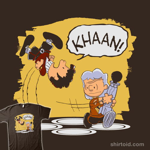 shirtoid:  Khaaan! by Blueswade is available at Redbubble