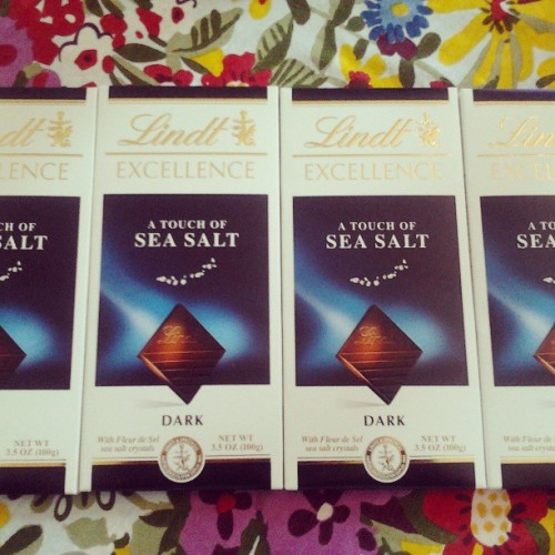 Happy Mother's day to me! Thank you @drinkjaderade  #darkchocolate #seasalt #mothersday #theyknowme #sunday