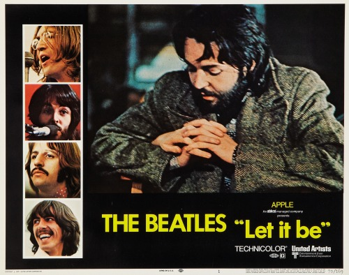 Lobby Card for Let It Be (1970)
