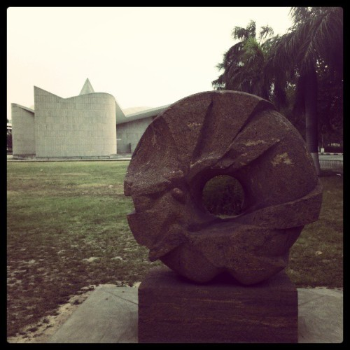 #stone #brown (at Panjab University)