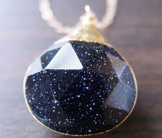 themagicfarawayttree:  Midnight Star Pendant