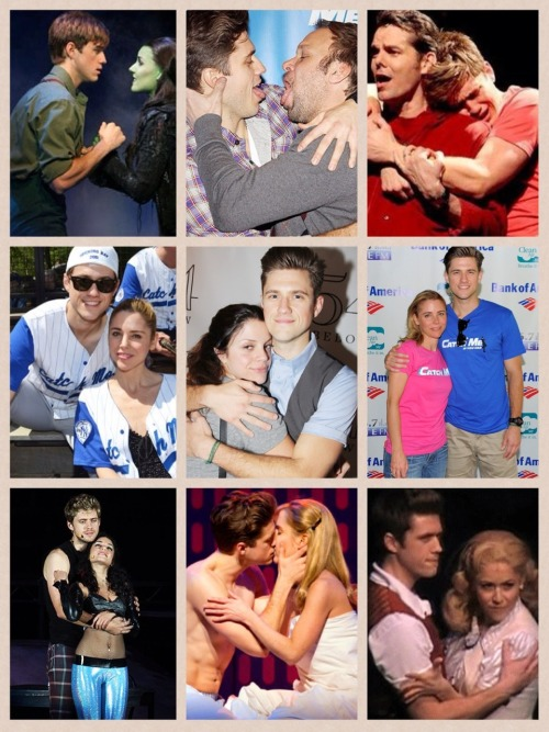 tveit-mate:  Aaron Tveit cuddles!