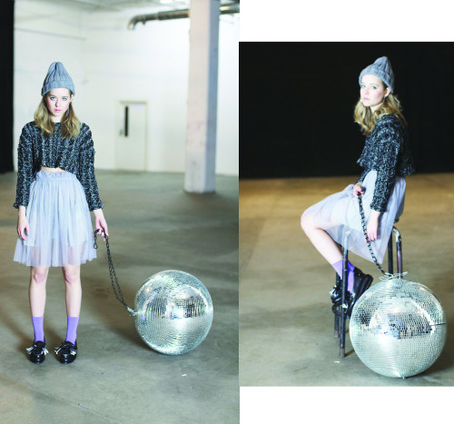 thewhitepepper:  Disco Ball! (by THE WHITEPEPPER)Purple Grey Tulle Skirt Elasticated high waist with opaque grey underskirt lining. Gathered pleat waist. Unique stand-out piece. Wear for casual daily styling or dress up! Unique Leather Tassel Loafers in black. Amazing and unique tassel loafers in real leather. Style with everything! Also available in white leather. Online shop https://thewhitepepper.com Like us on facebook ! https://facebook.com/pages/THE-WHITEPEPPER/238620749510426