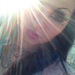 dollyx:  Thank you sunlight for making me look mysterious 😏 ✨💖✨💖✨
