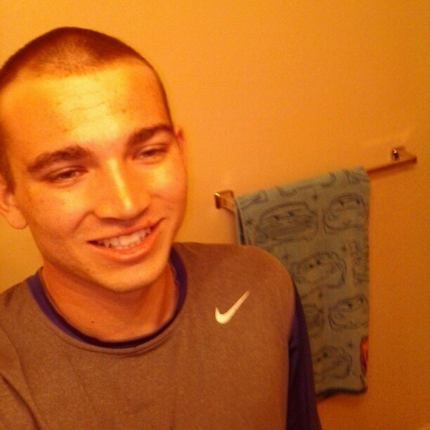 Fresh buzz :) #noedit #nofilter #fresh #buzzed #happy #stoked #haircut #smile